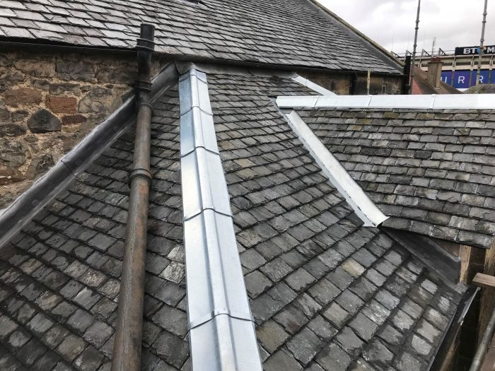 Roseburn Street Residential Roofing Rebuild Advanced